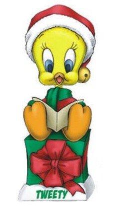 Looney Tunes Christmas Tweety Wacky Wobbler Bobble Head