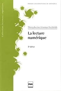 Book's Cover ofLa lecture numérique