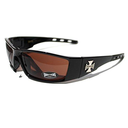 (#CH14-S2 Choppers Eyewear Wrap Outdoor Sports Men's Sunglasses)