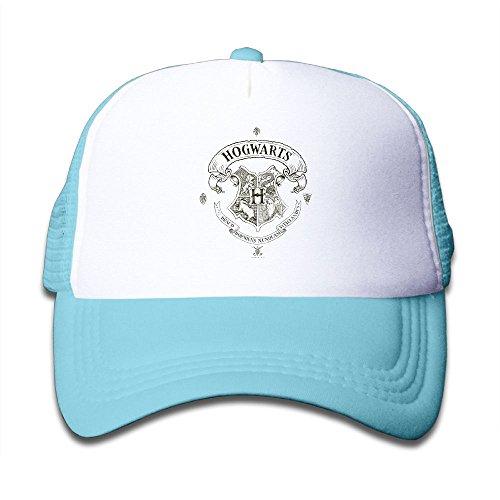 Potter Hogwarts Banner Crest Hip Hop sunbonnet SkyBlue (Crest Banner Hat)