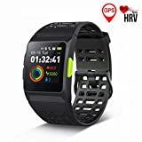 Best Gps Heart Rate Watches - GPS Running Watch, OUMAX S8 Smart Watch HRV Review