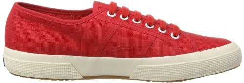 Superga 975 Baskets Classic 2750 Rot Rouge adulte Cotu mixte Red vxrvqtw6z