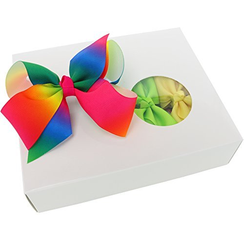 Bows For Girls Grosgrain Boutique Big Hair Bow Clips For Teens Toddlers Kids Children Set Of 15