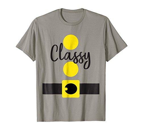 Classy Dwarf Halloween Costume Shirt, Matching Dwarves Set ()