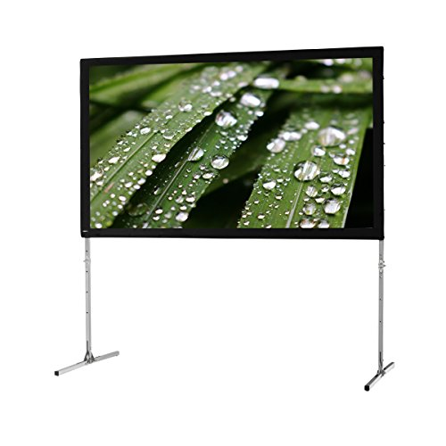 "celexon 110"" Folding Frame Screen Mobile Expert, Rear Projection Screen, 16:9 Format, Flightcase for transport & storage by celexon"