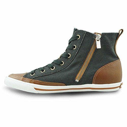 Burnetie Kvinners Høy Topp Vintage Sneaker Burnetie Kvinners Høy Topp  Vintage Sneaker ...