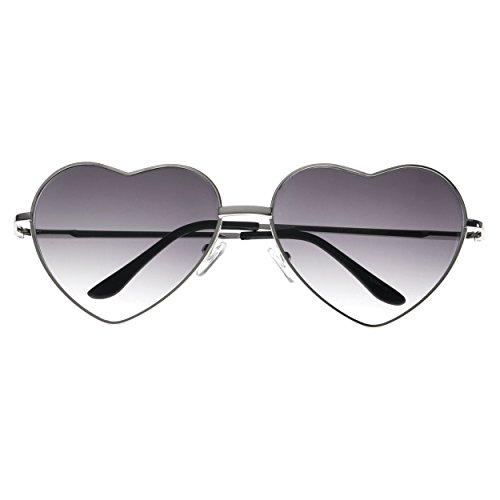 MLC Eyewear ® 'Bora' Heart Fashion Sunglasses in - Glass By Gucci Of Gucci Heart