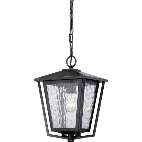 Quoizel ALF1910IB Alfresco with Imperial Bronze Finish and  Large Hanging Lantern,  Brown