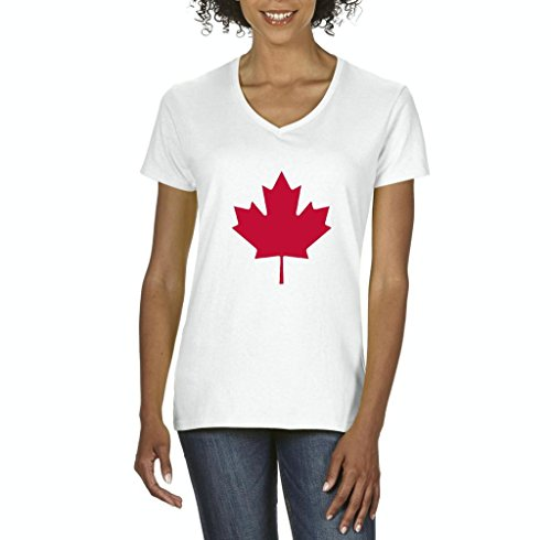xekia-canada-toronto-maple-leafs-proud-canadian-womens-v-neck-t-shirt-tee-x-large-white