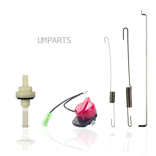 UMPARTS GX1-001 Honda pressure washer, Gas Tank joint Fuel Filter, Governor Rod Speed Control Throttle Return Spring, On Off Engine Stop Switch Set
