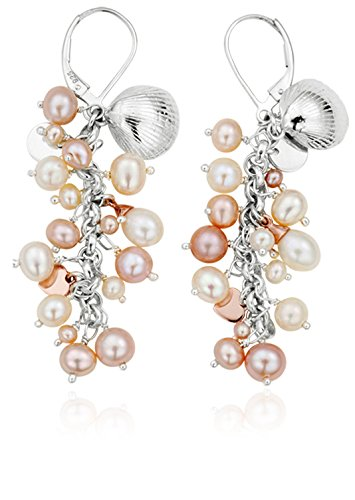 4afa93a1c40f4 Clogau Gold Silver and 9ct Rose Gold Welsh Beachcomber Drop Earrings
