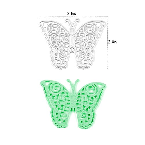 [Enipate Butterfly Cutting Dies Carbon Steel Stencil Metal DIY Template] (2016 Womens Halloween Costumes Diy)