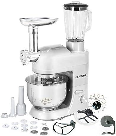 CHEFTRONIC Robot de Cocina Multifunción Batidora Amasadora SM-1086 ...