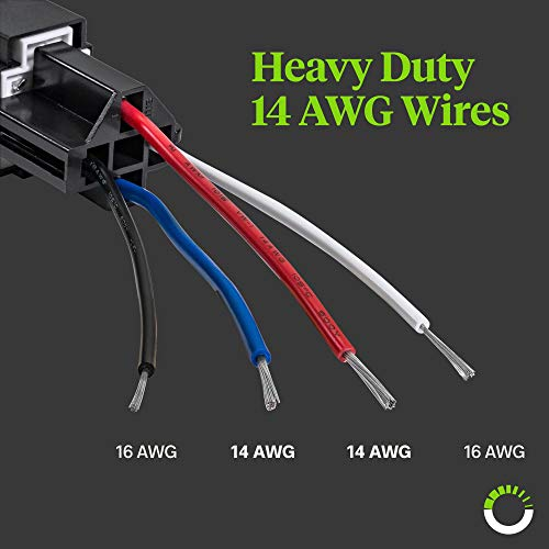 6x Vehicle Car 12V Fuse Relay Switch Harness Set with 30A ATO//ATC Blade Fuse