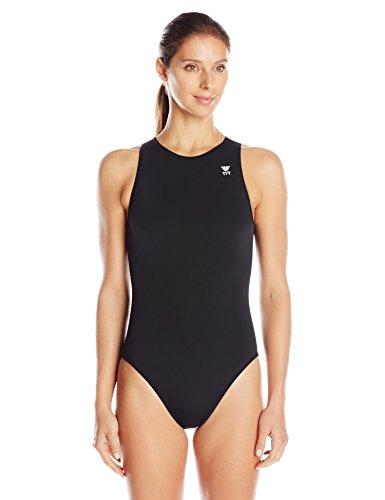 TYR 1WWD6A34 Women's Destroyer Water Polo, Black, Size - Swimsuit Triathlon