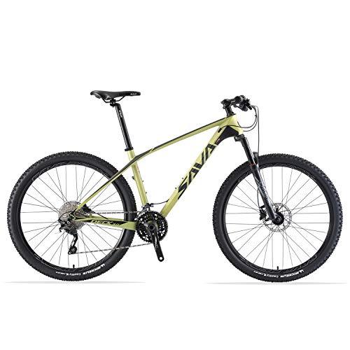 (SAVADECK DECK300 Carbon Fiber Mountain Bike 27.5