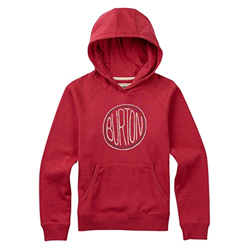 Burton Girl's Prudence Pullover Hoodie, Berry Heather, Small ()