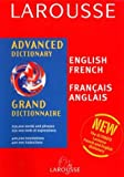 img - for Larousse Chambers Advanced English/French French English Dictionary (French Edition) book / textbook / text book