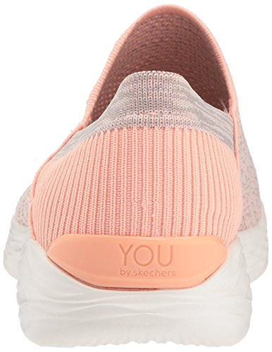 Skechers Donna peach Multicolore rise Infilare Sneaker You 6ISqr6