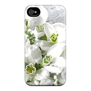 AnnetteL Slim Fit Tpu Protector GpCCtit220fKyEi Shock Absorbent Bumper Case For Iphone 4/4s