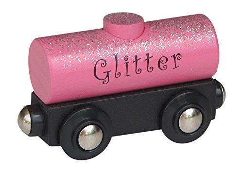 Choo Choo Track & Toy Co. Glitter Tank Car magnetic wooden train