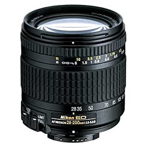Nikon 28-200mm f/3.5-5.6G ED IF Autofocus Nikkor Zoom Lens (Discontinued by Manufacturer)
