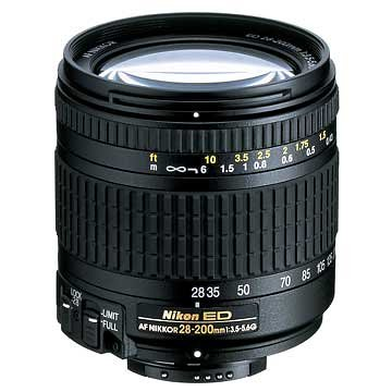 Nikon 28-200mm f/3.5-5.6G ED IF Autofocus Nikkor Zoom Lens (Discontinued by (Nikon F5 F100)