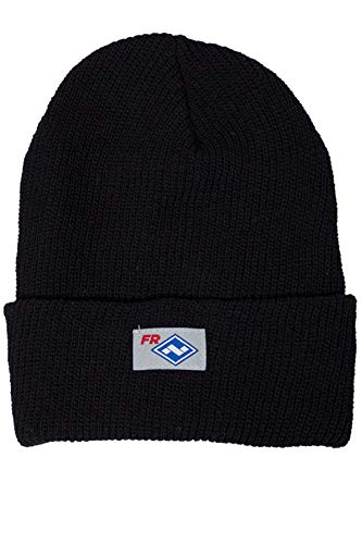 National Safety Apparel HNC2BK FR Dupont Nomex Knit Hat, One Size, Black