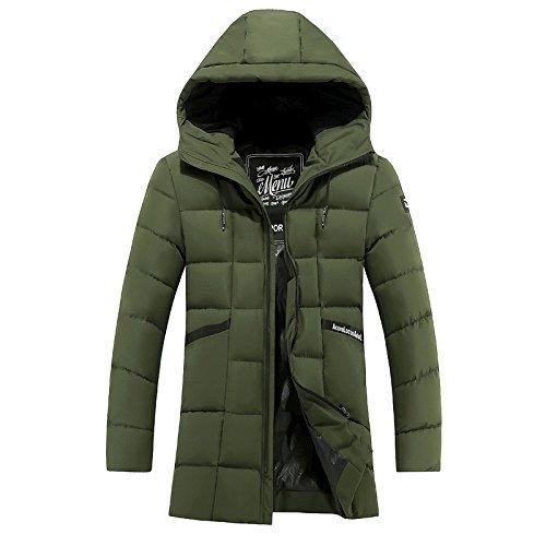Das Medium des langen Winters warm Anzug jacke Herren Mantel