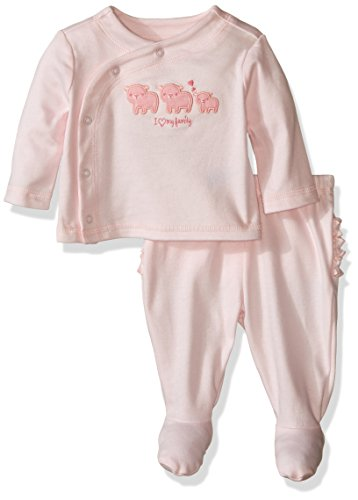The Children's Place Baby Sleep 'N Play Romper Playwear, Pink, 6-9 Months