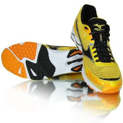 Mizuno Wave Musha Zapatillas de running Amarillo - amarillo