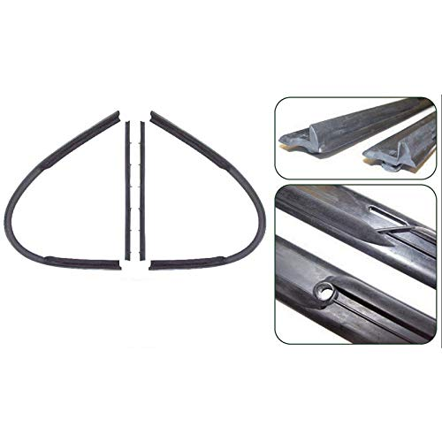 Eckler's Premier Quality Products 80-258390 - Chevy Vent Window Weatherstripping, Complete, All Except 2-Door Hardtop & ()