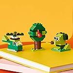 LEGO-Classic-Mattoncini-Creativi-per-Creare-e-Ricreare-Oggetti-In-Tema-Green-Set-di-Costruzioni-per-Bambini-4-Anni-Verde-11007