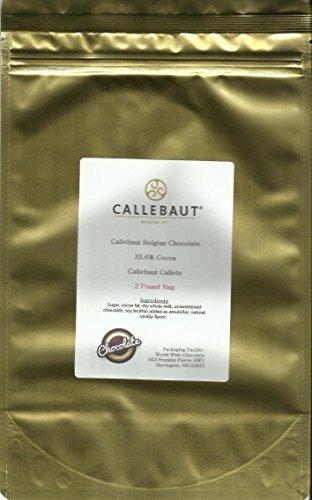 Callebaut 823 33.6% Milk Chocolate Callets 1 lb