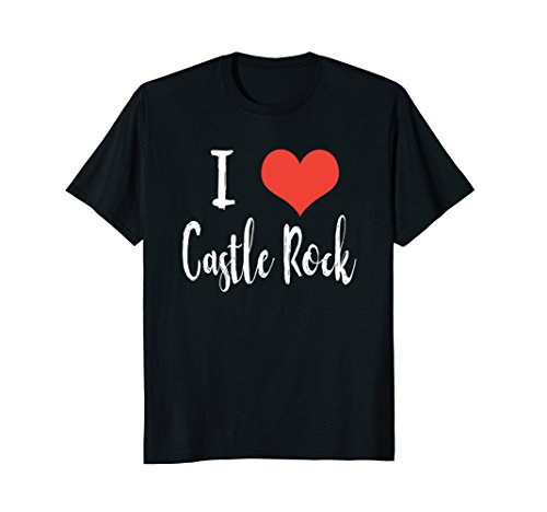 Mens I Love Castle Rock T-shirt XL (Love Castle)