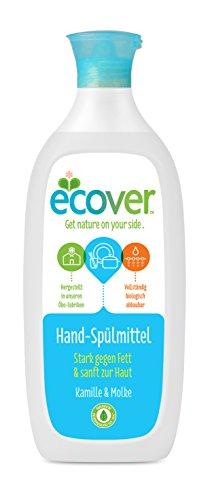 Ecover Ökologisches Geschirrspülmittel Kamille und Molke, 3er Pack (3 x 500 ml)