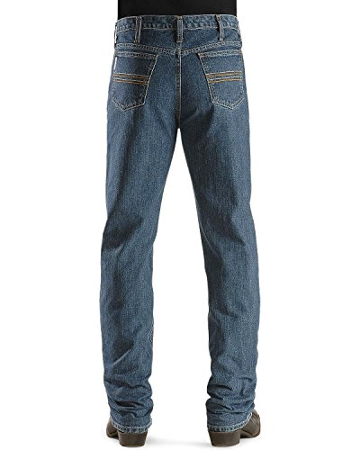 Cinch Men's Silver Label Straight Leg Jeans Big and Tall Indigo 34W x 38L (Cinch Mens)