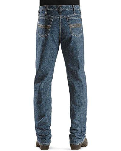 31 Labels (Cinch Men's Silver Label Slim Fit Jean,  Medium Stone Wash, 31W x 36L)
