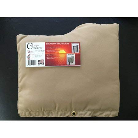 PRRFECT CONCEPTS Deluxe Backflow Cover, Brown by PRRFECT CONCEPTS