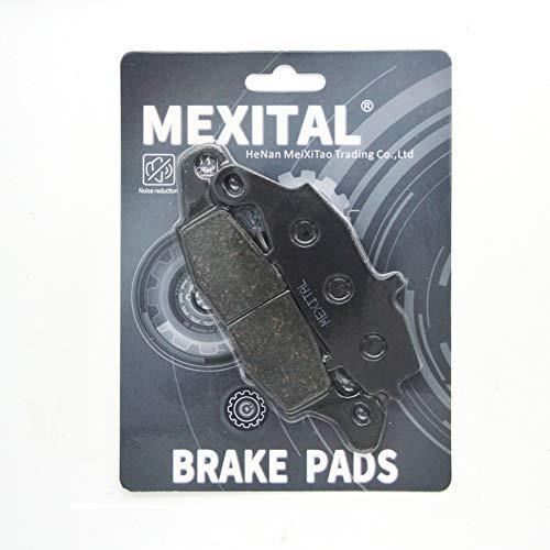 MEXITAL remblokken semi-metaal voor MXB229-231 Anteriori sinistro