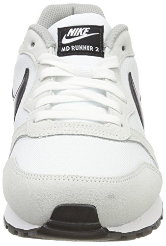 Nike Damen MD Runner 2 Hallenschuhe Elfenbein (White/black/wolf Grey 100)
