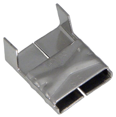 BAND-IT Clips AE4559, 316 Stainless Steel, 5/8'' wide (100 per Box) by Band-It
