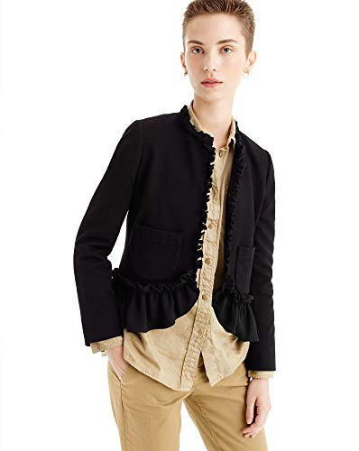 J.Crew Women's The Going Out Blazer with Ruffles, Size for sale  Delivered anywhere in USA