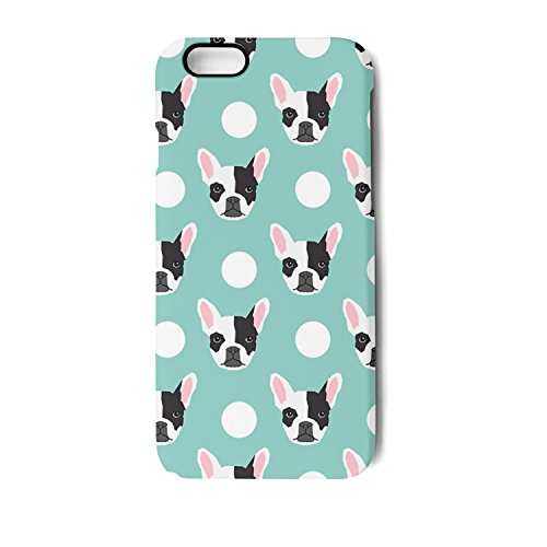 Vekq French Bulldog Pattern IPhone 6s/6 Plus/6s Plus/7 Plus/8 Plus Case Shock Absorption Soft TPU Back Cover