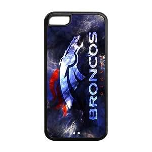 Custom Denver Broncos NFL Series Back Cover Case For Samsung Galaxy S5 I9500 Cover JN5C-1084