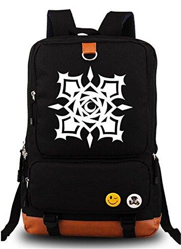 (Siawasey Vampire Knight Anime Cartoon Canvas Backpack Shoulder School)