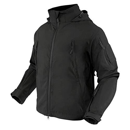 Condor Summit Zero Mens Lightweight Soft Shell Jacket, Black, XXXL 609-002-XXXL