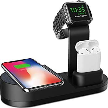 Amazon.com: Beacoo Wireless Charger, 3 in 1 Charging Stand ...