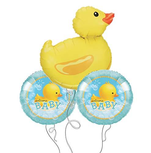 Bubble Bath Baby Rubber Ducky Party Balloon Bouquet
