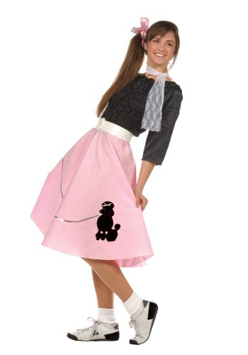 Poodle Teen Skirt Costumes (50's Teen Poodle Skirt Costume - Teen 16-18 by RG Costumes)